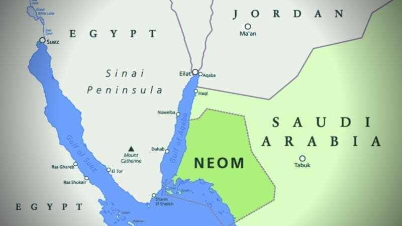saudi-arabia neom sea