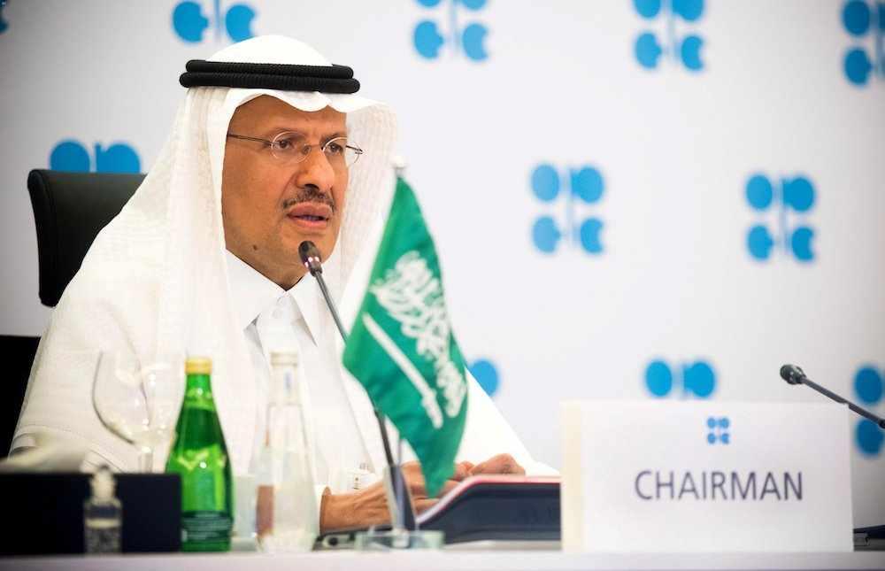saudi-arabia oil output gesture goodwill
