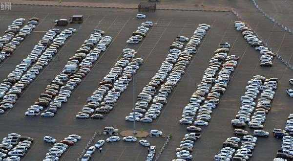 saudi-arabia parking electric spaces cars