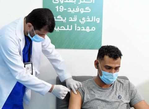 saudi arabia vaccine citizens shots saudi
