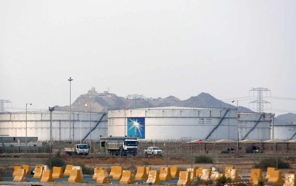 saudi aramco oil profits firm