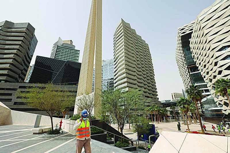 saudi district foreign firms financial