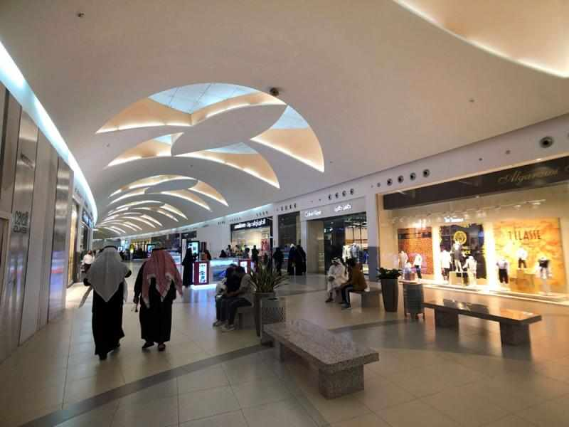 saudi malls kingdom law saudis