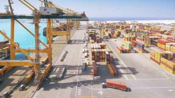 saudi ports containers percent