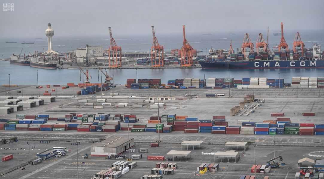 saudi ports ferry impressive warehouse