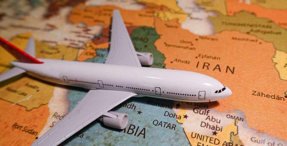 saudi qatar lands flight arabia