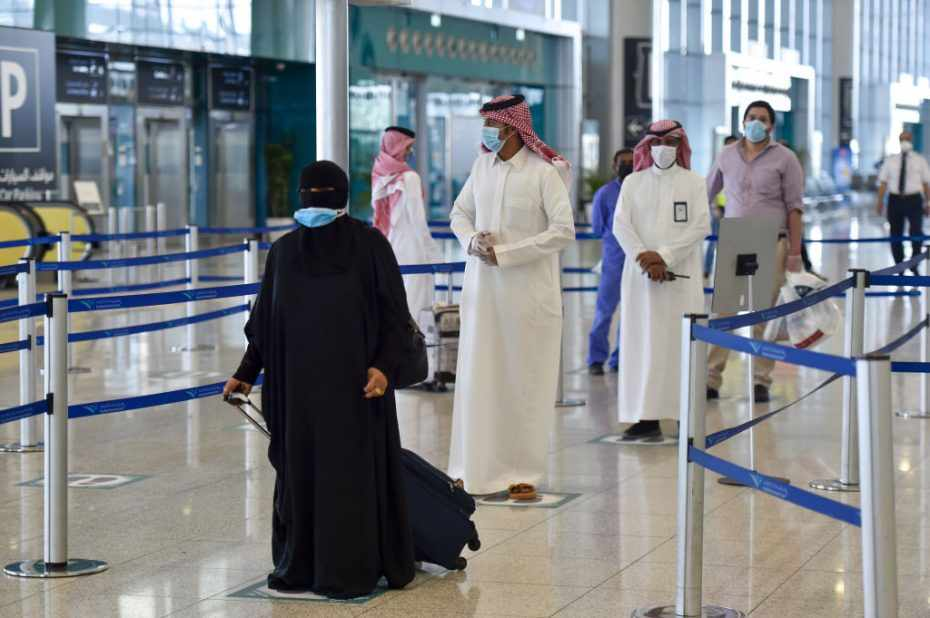saudi restrictions date travel complete