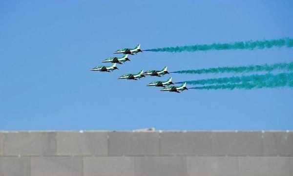 saudi riyadh show hawks airlines