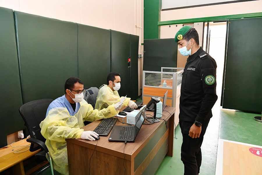 saudi royal guard cases covid