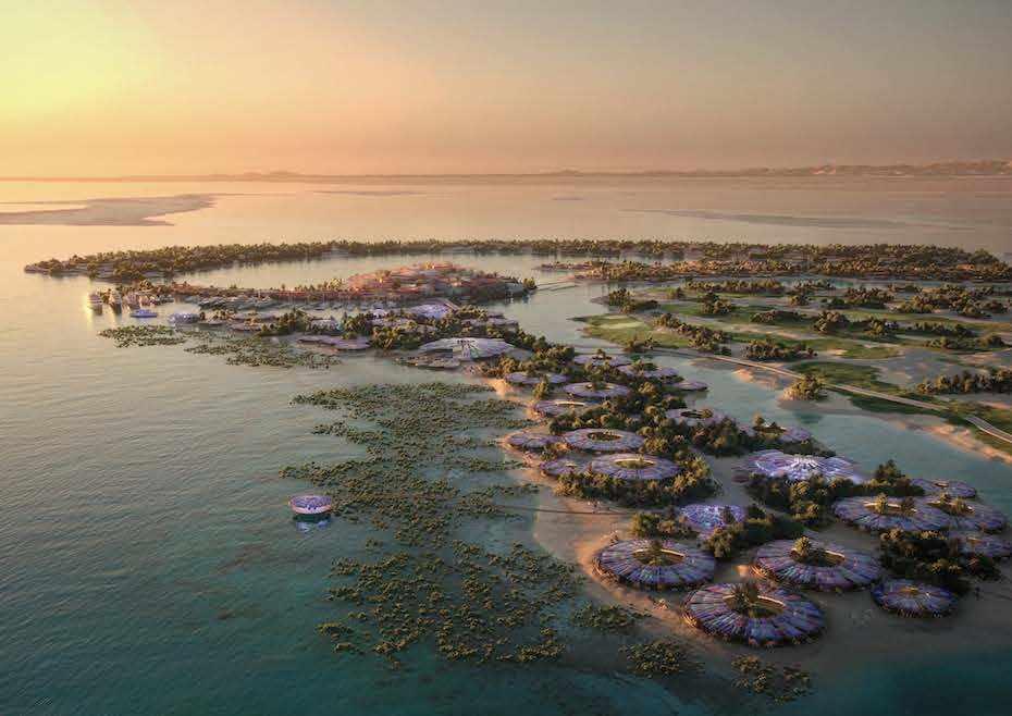 saudi sea loan tourism green