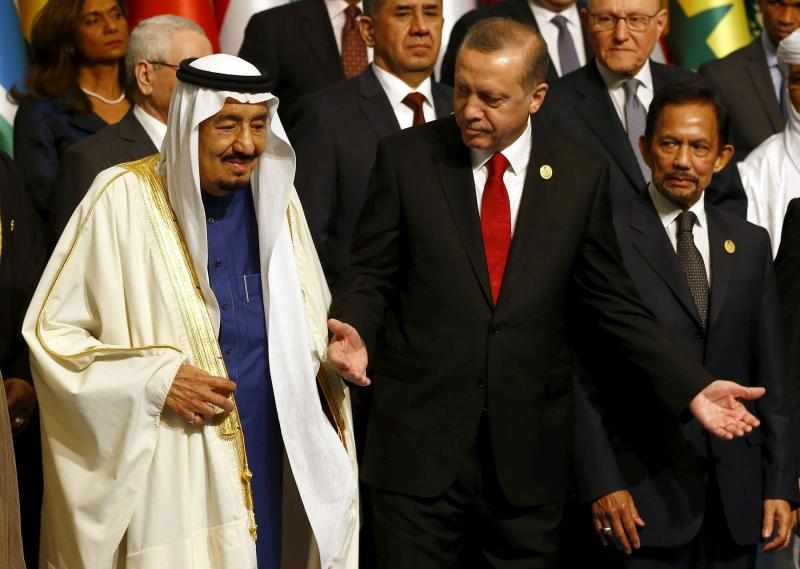 saudi turkish king president summit