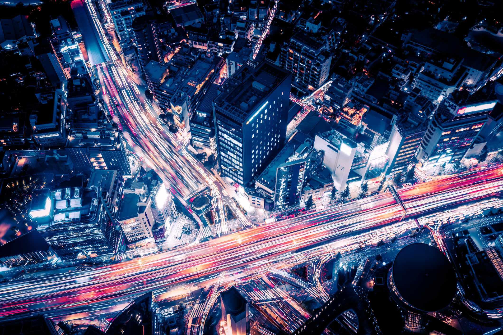 sensors traffic cameras city streets