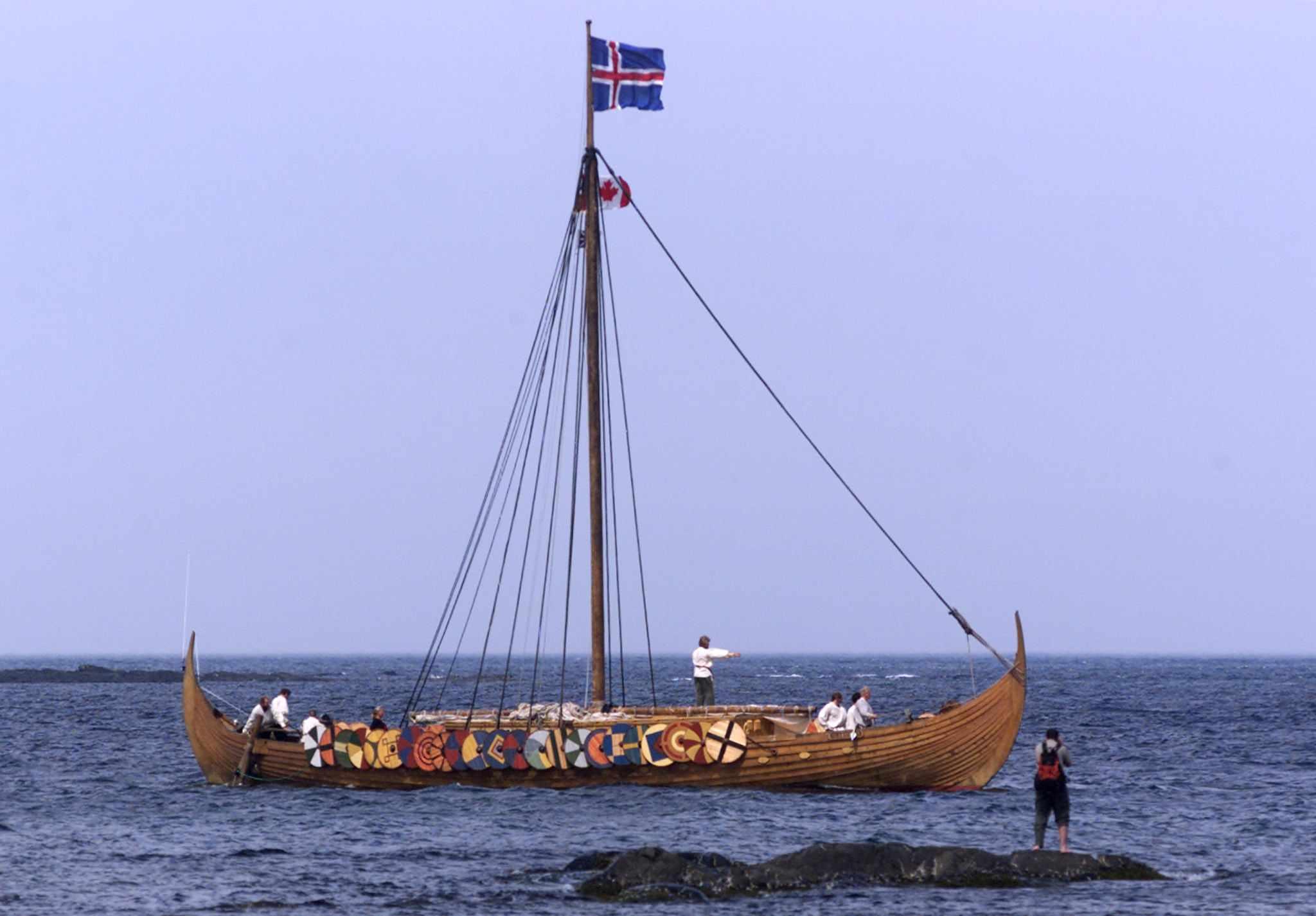 settlement, vikings, ago, columbus, northern,