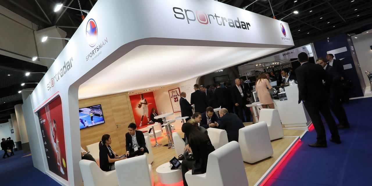 shares, sportradar, market, debut, company,