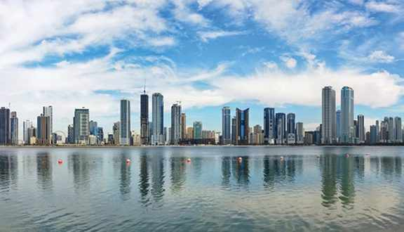 sharjah real estate transactions emirate