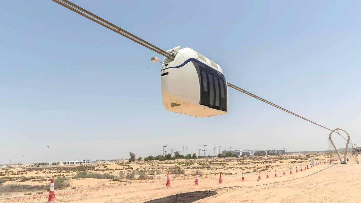 sharjah uae transport sky electric