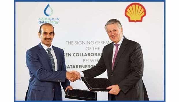 shell, pursue, investments, hydrogen, qatarenergy,