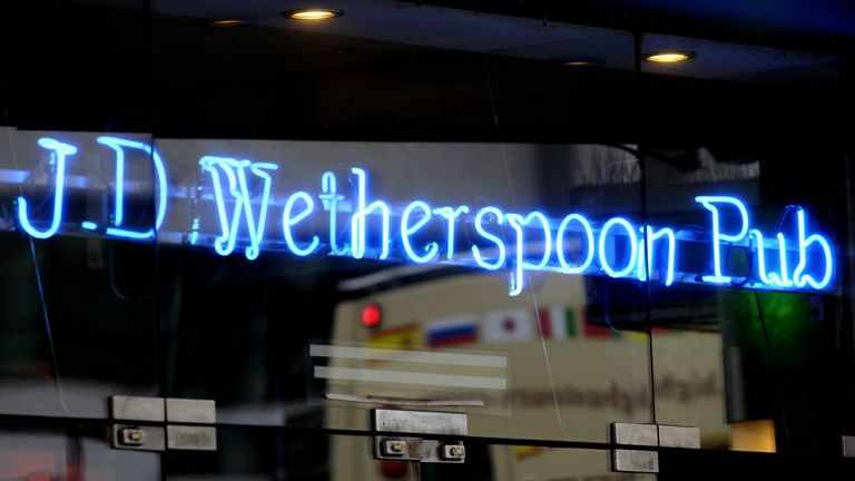 shortages, wetherspoons, founder, beer, role,