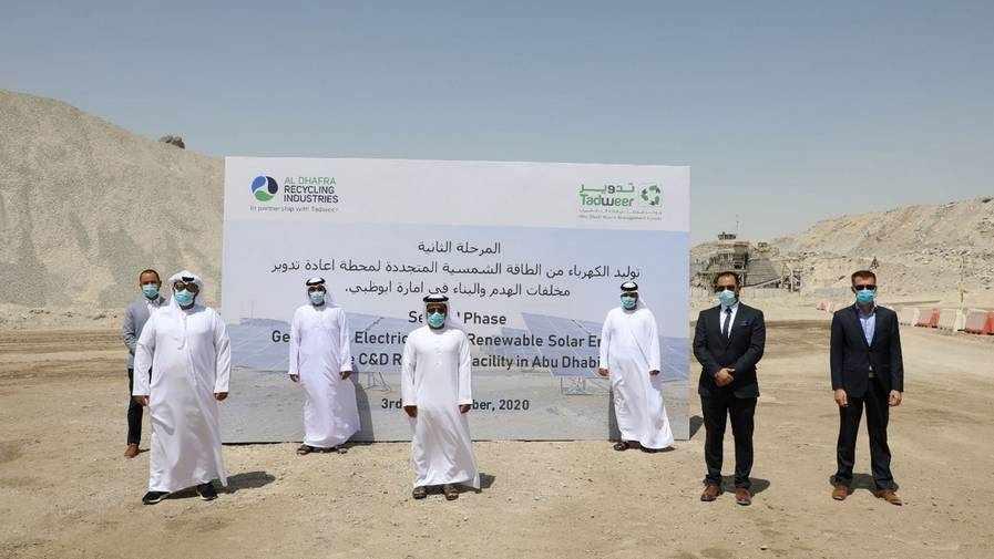 abu-dhabi solar power facility dhafra