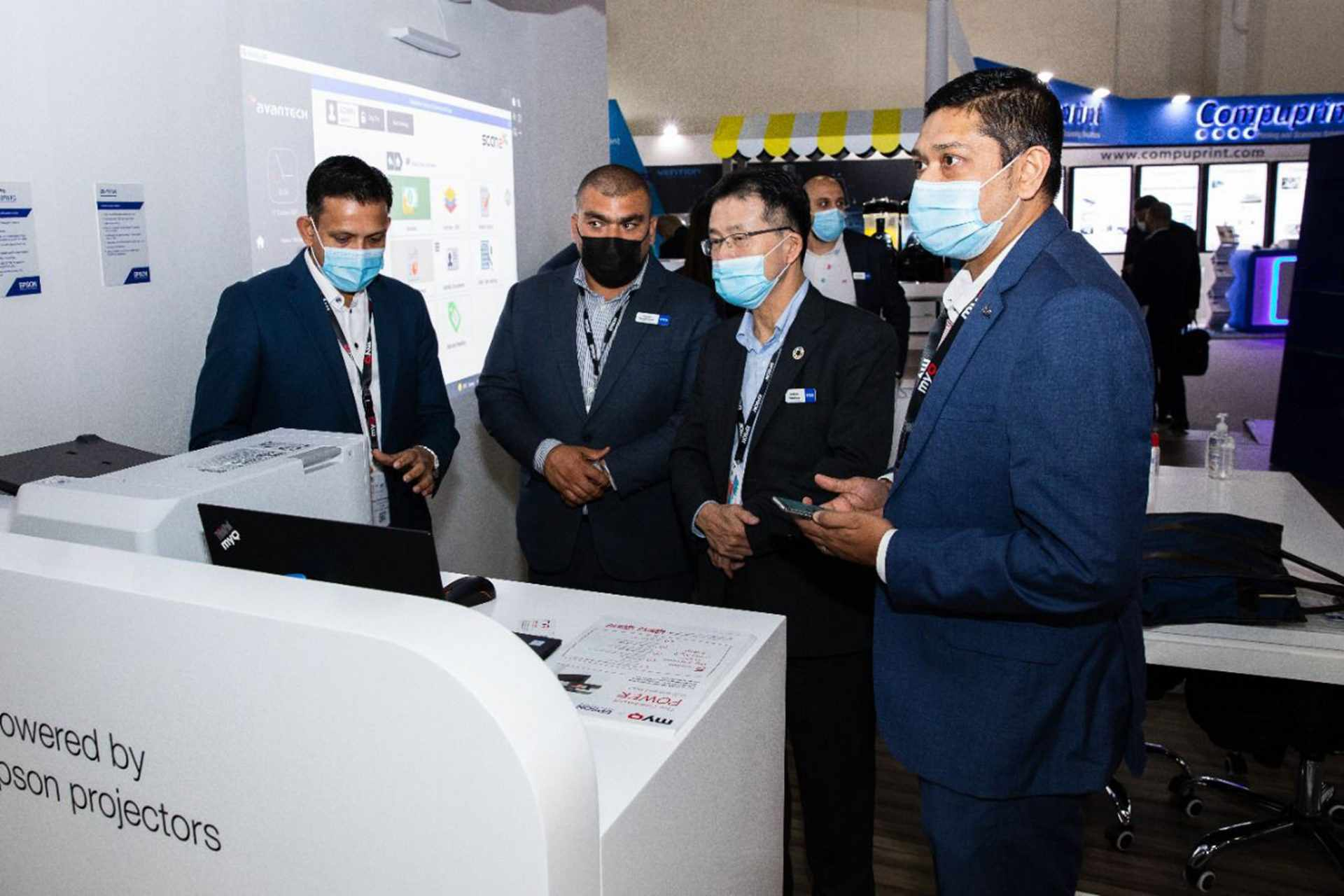 solutions, epson, middle, gitex, business,