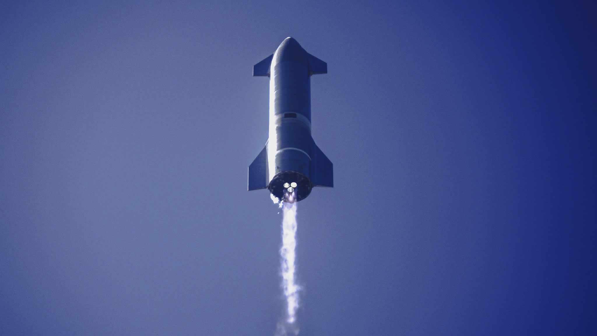 spacex starship orbital flight plan