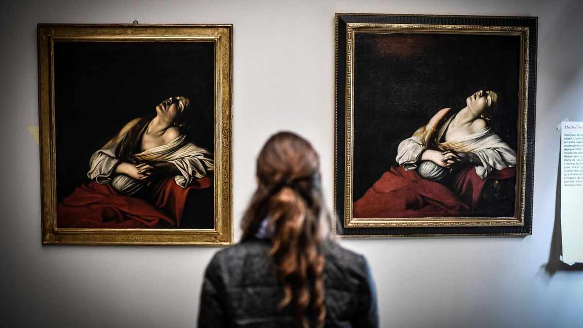 spain painting auction art caravaggio