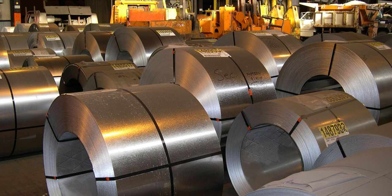 steel stocks prices gained