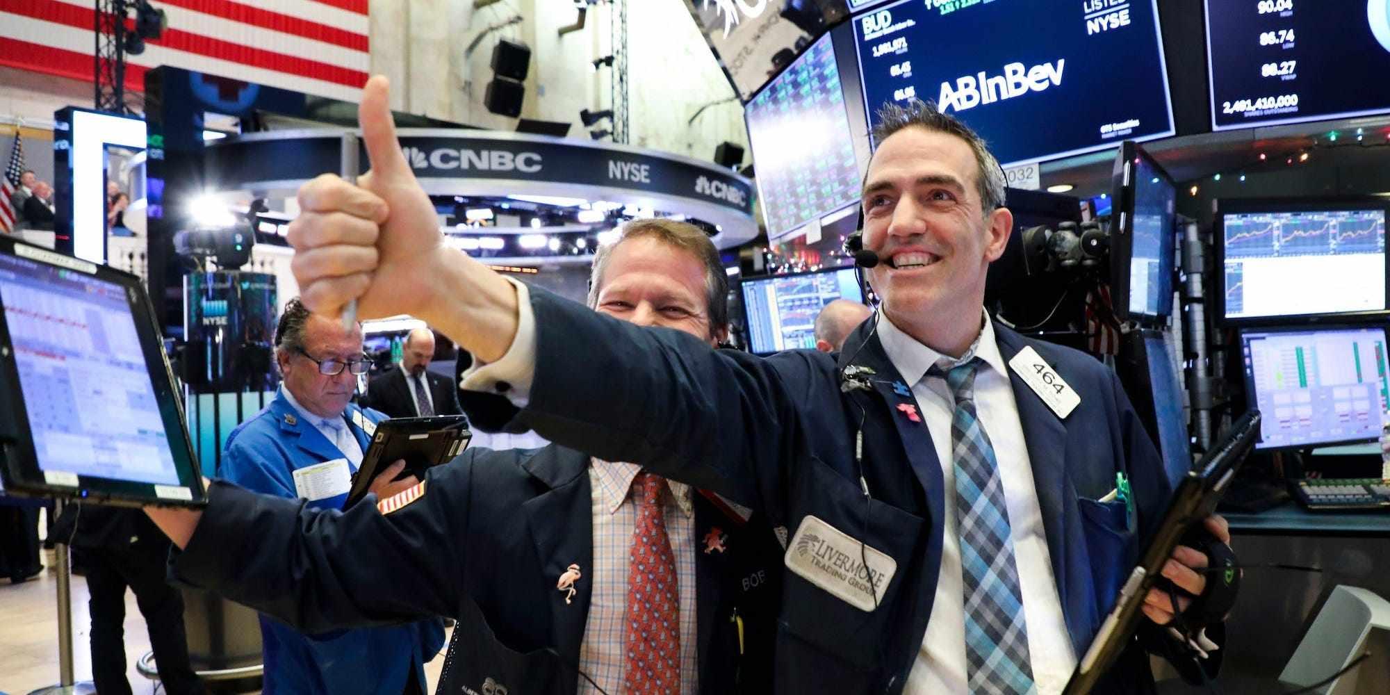 stimulus economic dow