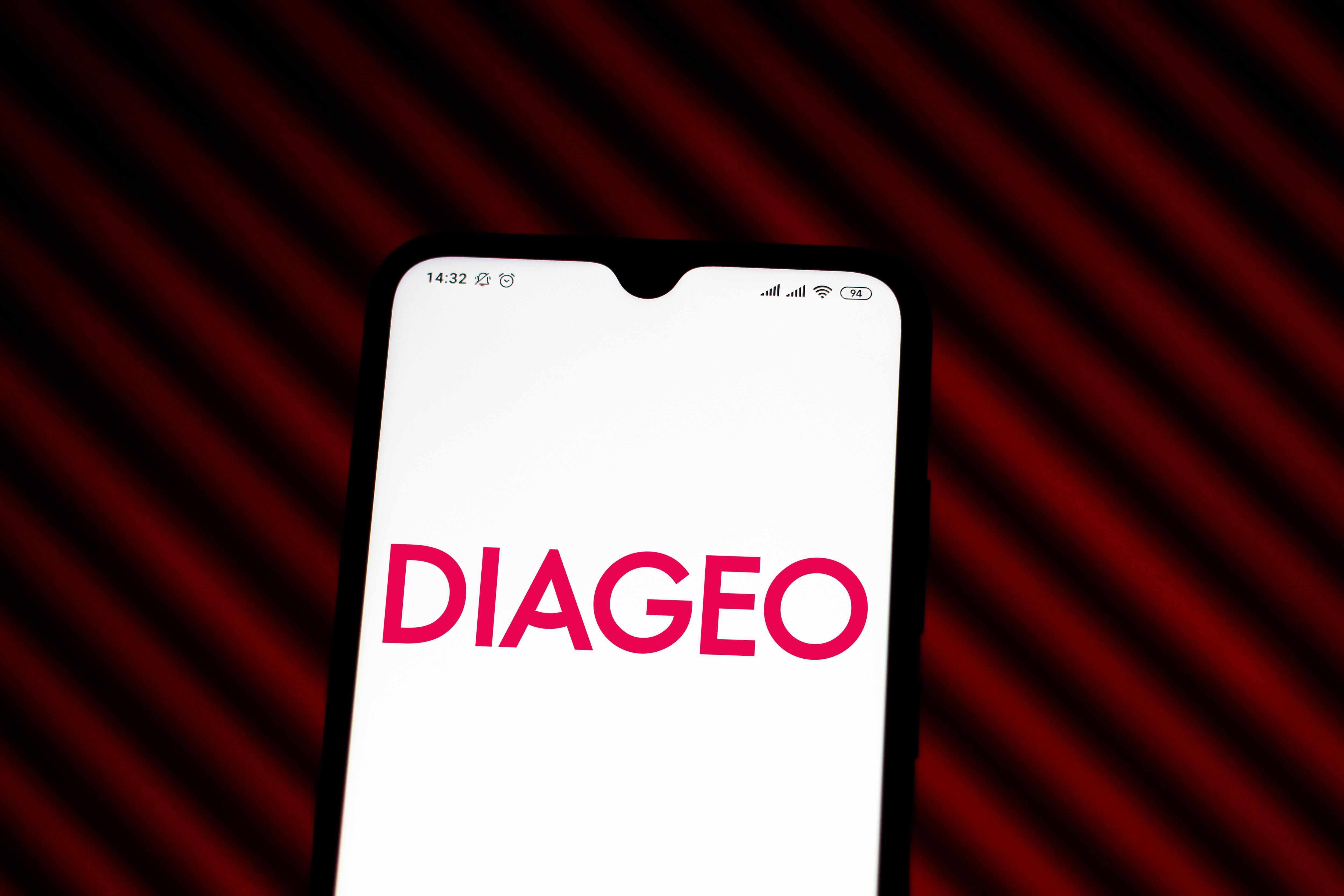 stock diageo recent deo via
