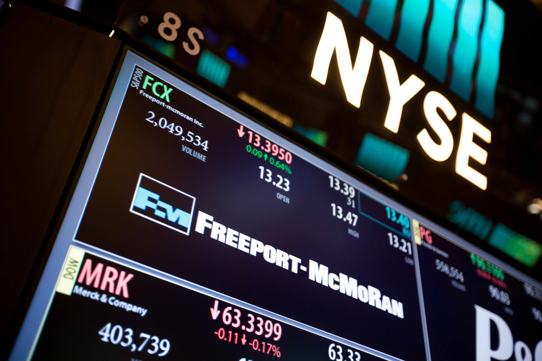 stock freeport mcmoran companys