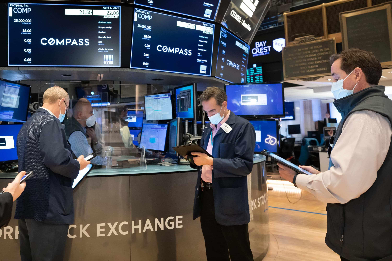 stock market closing rose tax