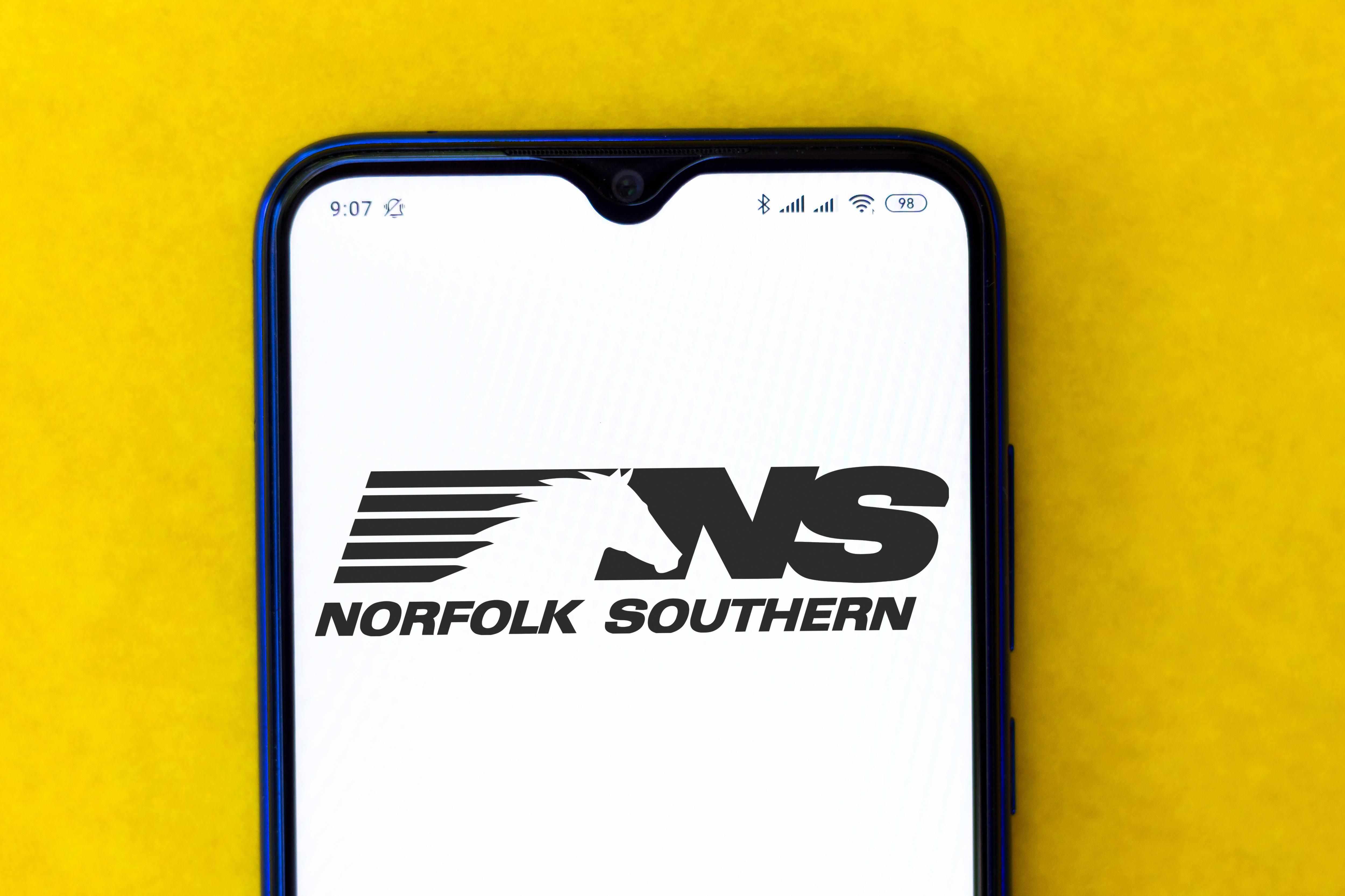 stock norfolk southern downside risk