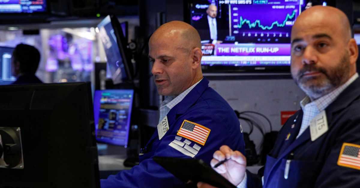 stocks, inflation, nasdaq, falls,