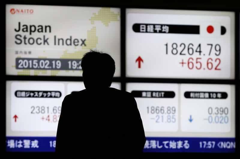 stocks trade japan nikkei