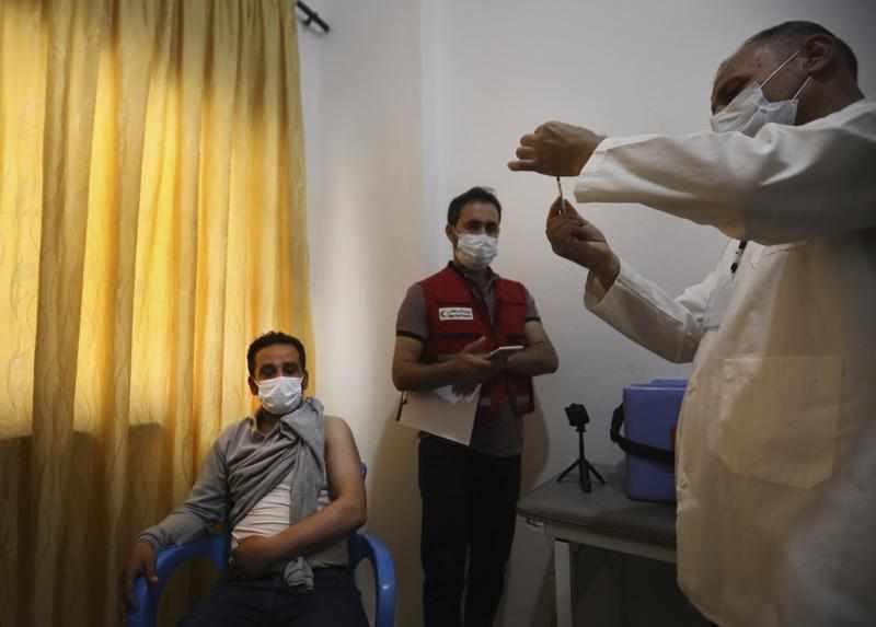 syria vaccine campaign rebel nurse