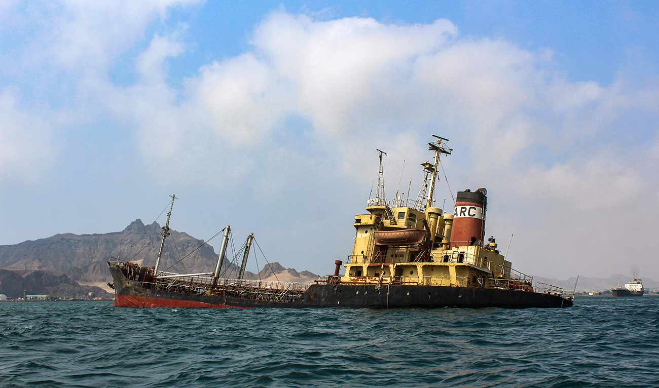tanker decaying oil