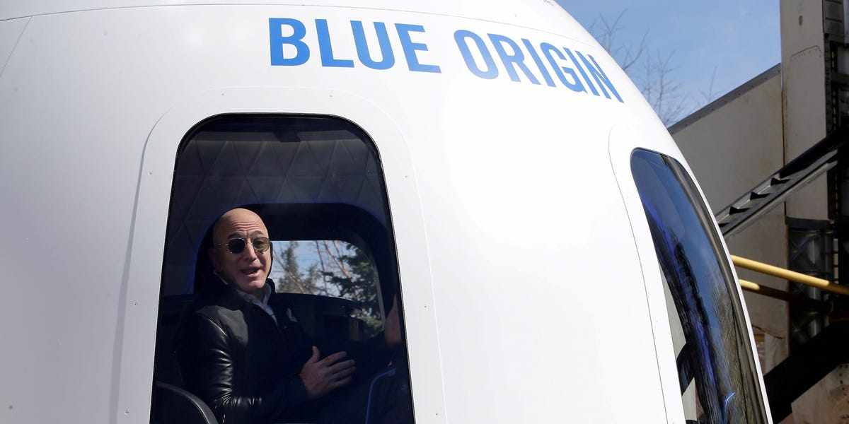 tech bezos business conference mystery