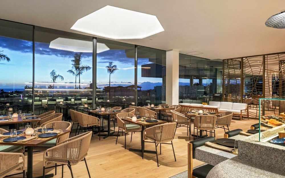 tenerife restaurants michelin rustic hillside