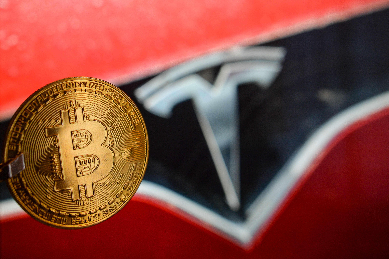 tesla bitcoin share analyst ives