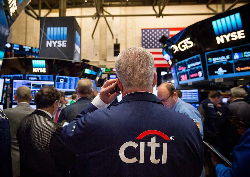 trading stock flagging business citigroup