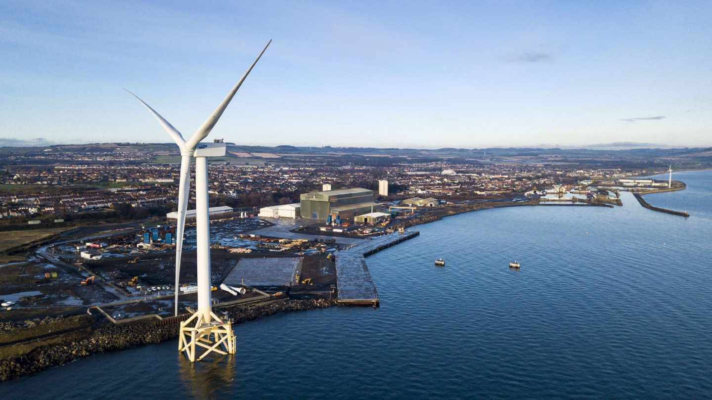 transition offshore wind scotland contract