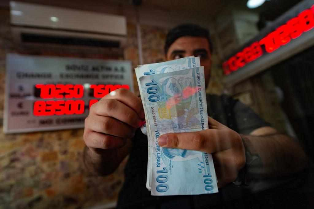 turkey currency finance chief battered