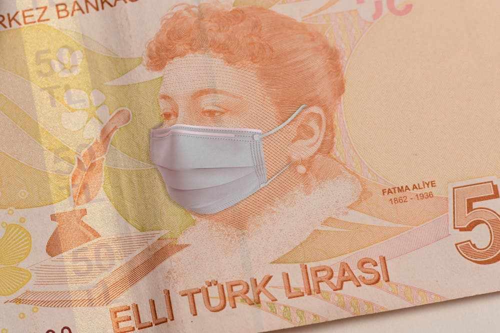 turkey economy covid currency bank