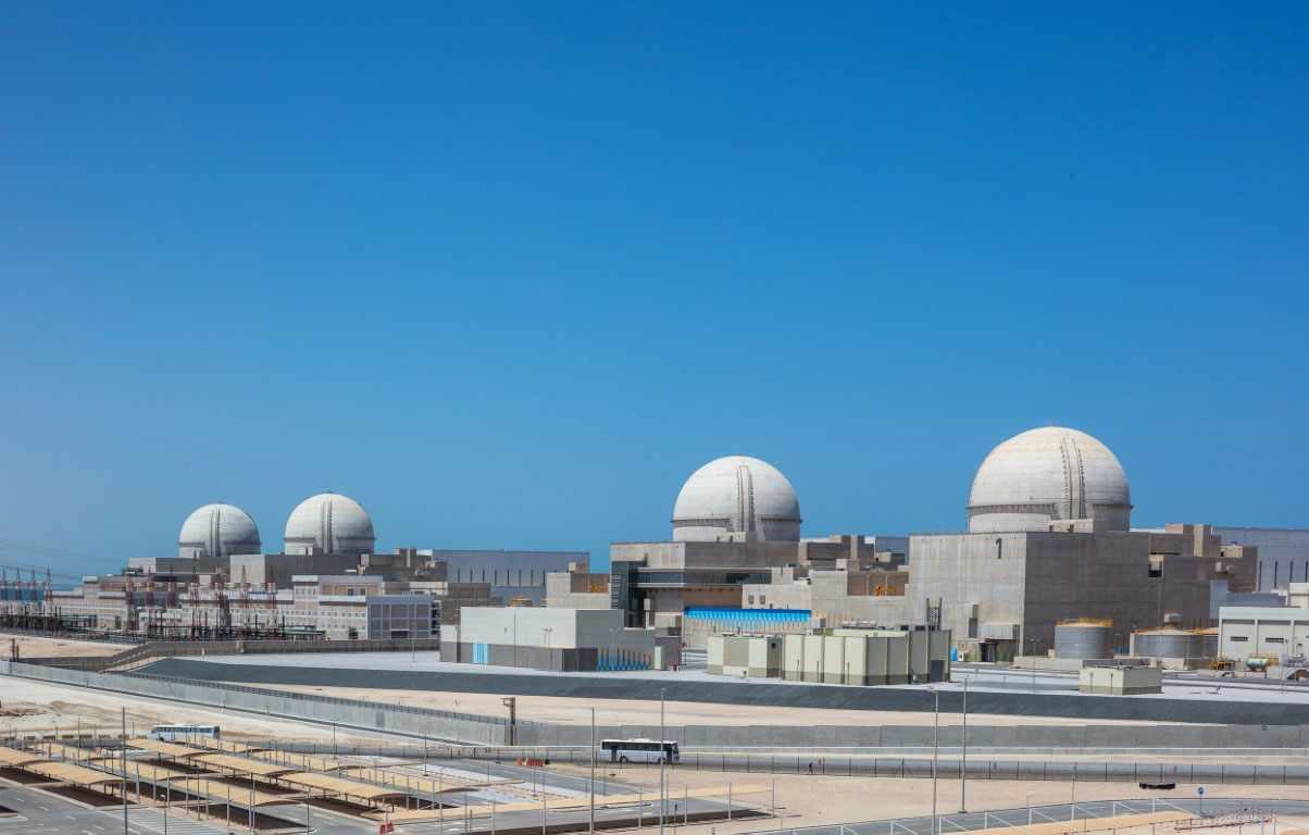 uae barakah nuclear power plant