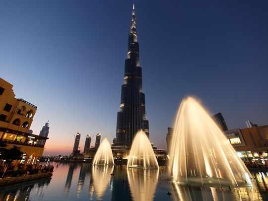 uae burj khalifa world building