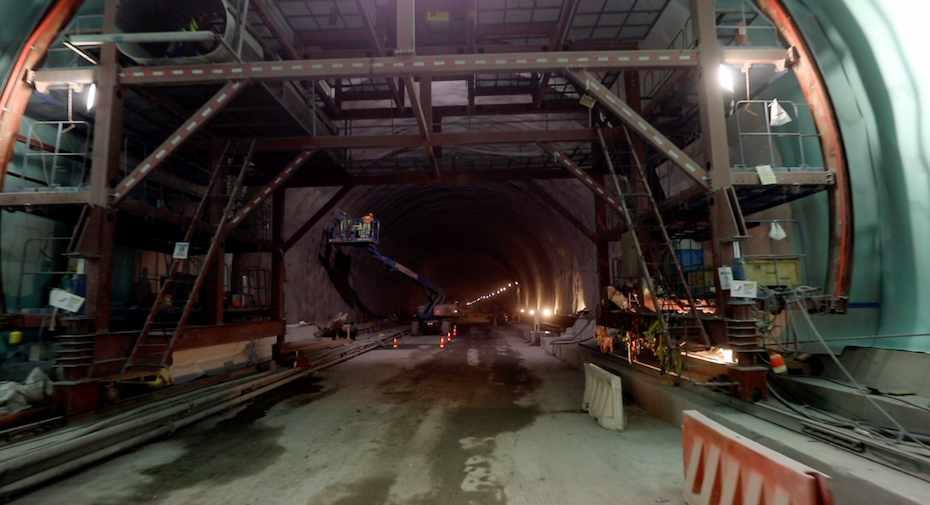 uae gcc rail tunnel excavation