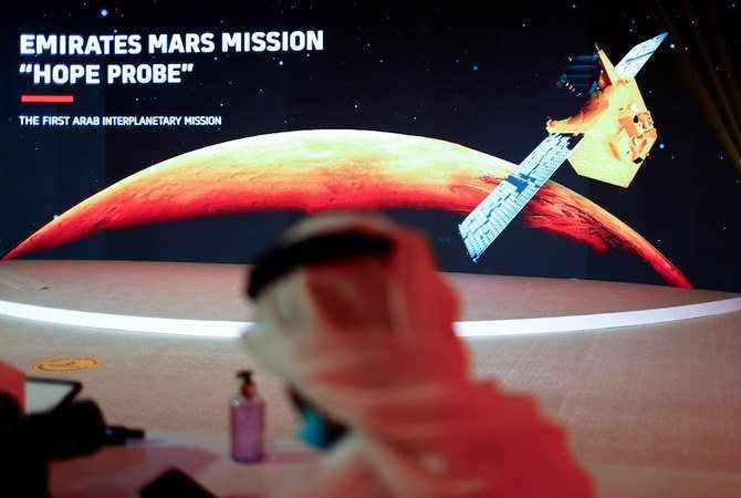 uae hope probe mars orbit