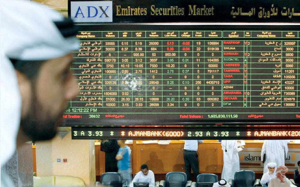 uae markets stock note
