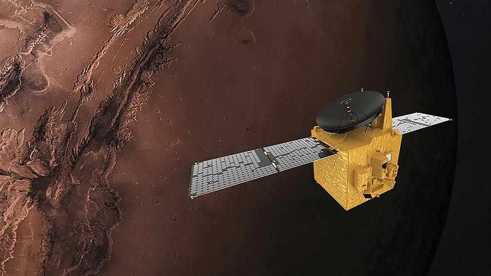 uae mars arab interplanetary orbit