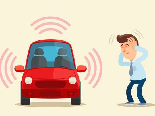 uae noisy vehicles neighbourhoods noise